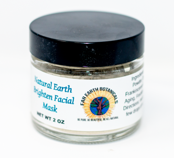 Natural Earth Brighten Face Mask